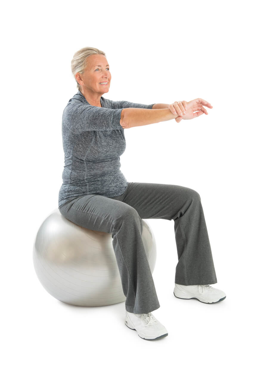 elderly-woman-sitting-on-stability-ball